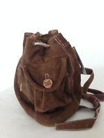 Handtasche Rucksack Shopper Schultertasche Beuteltasche Echt Leder Braun Shopper
