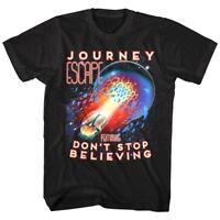 OFFICIAL Journey Escape Don't Stop Believing Men's T shirt Rock Band