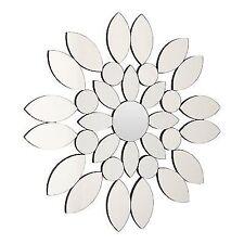 Premier Housewares Blossom Wall Mirror-Silver