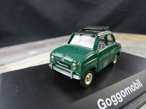 Schuco Gogomobil Dunkelgrün Cabriodach 1:43 ABT168 Sehr Gut