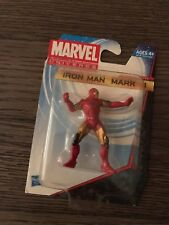 "NIB MARVEL UNIVERSE MOVIE SERIES IRON MAN MARK VI MINI FIGURE 2 1/4"" HIGH HASBRO"