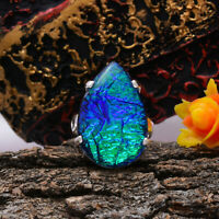 Awesome Triplet Opal Gemstone 925 Sterling Silver Handmade Ring All Size