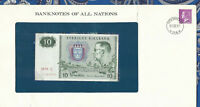 *Banknotes of All Nations Sweden 10 Kronor 1979 serie S P52d UNC BIRTHDAY 199001