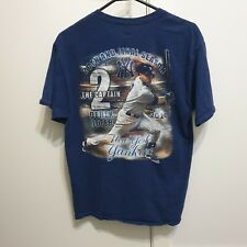 New listing Vintage New York Yankees MLB Derek Jeter Retirement Tee Size Medium