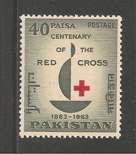 Pakistan #179 (A54)  VF MINT LH - 1963 40p International Red Cross