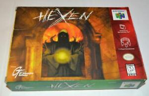 BOX ONLY HEXEN NINTENDO 64 ORIGINAL N64