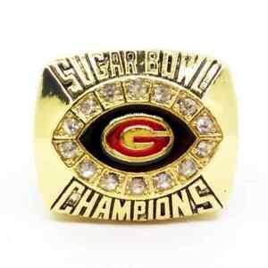 Ring of 2008 Georgia Bulldogs Football Team World Champions Rings