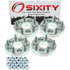 """4pc 5x100mm to 5x114.3mm Wheel Spacers Adapters 1"""" for Scion tC xD Thick oh"""