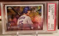 ⚾2015 Topps Chrome Update Joc Pederson Dodgers Rookie Card #US376 PSA 10