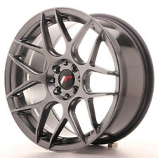 Japan Racing JR18 Alloy Wheel 17x8 - 4x100 / 4x114.3 - ET35 - Hyper Black