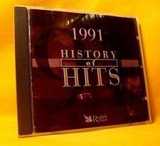 CD Reader's Digest History Of Hits 1991 18TR 2001 House Dance Pop Rock MEGA RARE