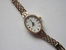 9ct Gold Rotary Bracelet Watch
