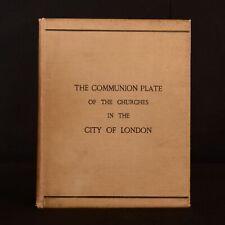 1894 die Kommunion Platte der Kirchen in der Stadt Edwin Freshfield Veran