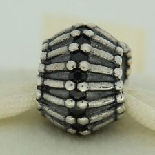 Authentic Pandora 790545CZK Show Stopper Black CZ Sterling Silver Bead Charm