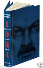 1984 ~ GEORGE ORWELL ~ FOLIO SOCIETY ~ IILUS JONATHAN BURTON ~ SLIPCASED GIFT ED