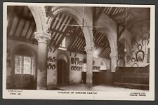 Postcard Oakham Castle interior Rutland horseshoe collection RP by Smith