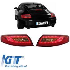 LED Rückleuchten Porsche 911 Carrera S Convertible Coupe 996 97-06 Rot/Rauch