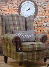 Wooden Living Room Country Armchairs