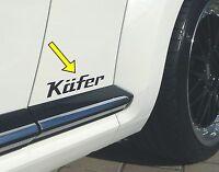 DESIGN Aufkleber für VW Beetle / Käfer 16-TEILIG in 5 VERSCHIEDENEN GRÖßEN 01-50