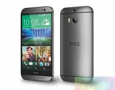 HTC One M8 Grey 32GB 5MP 4G LTE  EXPRESS SHIP Unlocked AU WARRANTY Smartphone