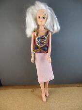 1980's Roxy of the Misfits (Jem Holograms) White Hair Original Doll 4205 #157