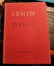 Lenin opere numero 13 editori riuniti 1965