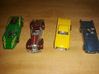4pc Lot vintage 1970s Hot Wheels