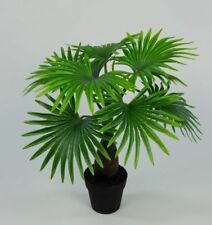 Fächerpalme 45cm im Topf GA Kunstpflanzen Kunstpalmen künstliche Palme