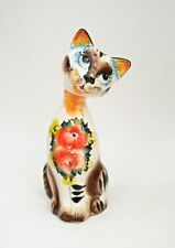 Russian Gzhel porcelain figurine of a CAT #0224