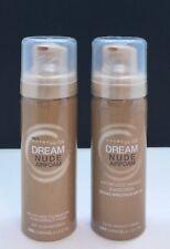 2x Maybelline Dream Nude Airfoam Makeup Foundation 350 Caramel