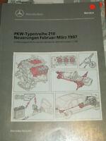 Mercedes Service Neuerungen PKW W 210  - Febr./März 1997