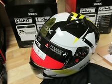 ZOX MOTORCYCLE MOTOCROSS ATV SNOWMOBILE SCOOTER HELMET - FULLFACE GALAXY LAR YEL