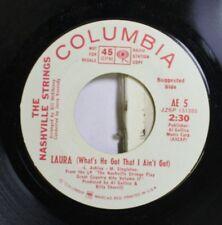 Pop Promo 45 The Nashville Strings - Laura (What'S He Got That I Ain'T Got) / St