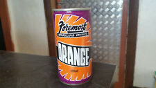 vintage schweppes formost orange sparkling  soft drink tin can