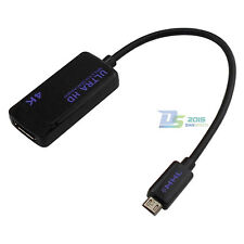 4K × 2K MHL 3.0 to HDMI Adapter HD AV Convertor For Samsung Note4 Xperia Z2 Z3