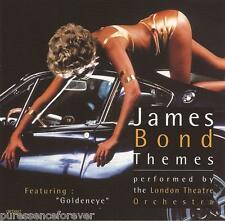 THE LONDON THEATRE ORCHESTRA - James Bond Themes (UK 19 Tk CD Album)