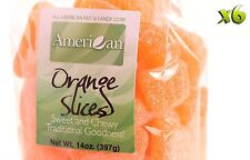 84oz Gourmet Bags of Orange Slices Chewy Candy [5 1/4 lbs.]