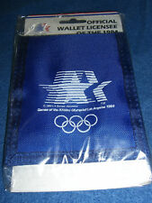 OLYMPICS 1984 Los Angeles BELT WALLET 23rd NIP Sealed! USA Vintage
