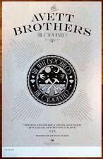 THE AVETT BROTHERS The Carpenter Ltd Ed Discontinued New RARE Poster! Folk Rock