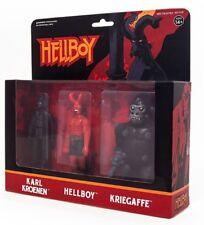 ReAction Hellboy Series 2 Karl Kroenen, Hellboy & Kriegaffe Action Figure 3-Pack