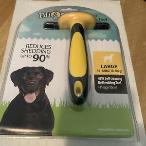 Pet Care Large Dog Shedding  Fur Comb Rake Fifi & Bo New