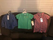 Polo Ralph Lauren Lot Of 3 9 Mths Button Down One Piece And Polo Nwt