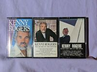 Kenny Rogers Cassette Lot 16 Greatest Hits Heart of The Matter Eyes See In Dark