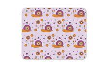 Cute Snail Mouse Mat Pad - Snails Kids Girls Purple Pink Gift PC Computer #8441
