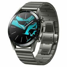Huawei Titanium Grey Watch gt 2 Smart  46mm Bluetooth Heart Rate Fitness Tracker