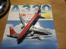 DRAGON WINGS 1:400 AIRBUS A320 - NORTHWEST AIRLINES 55043 MIB #757
