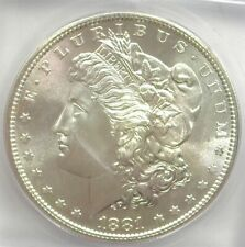 1881-S MORGAN SILVER DOLLAR ICG MS66 VALUED AT $225!