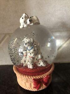 "Disney 101 Dalmatians Musical ""Doggie in the Window"" Snow Globe"