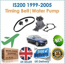 For IS200 GXE10 155BHP 1G-FE Engine 99-05 2.0 Timing Cam Belt Kit & Water Pump