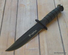 SMITH & WESSON SEARCH & RESCUE TACTICAL FIXED BLADE HUNTING KNIFE WITH SHEATH